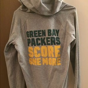 Green Bay packers pink hoodie